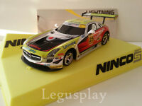Scx Scalextric Slot Ninco 50604 Mercedes SLS GT3 Vodafone Lightning