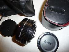 Camera lens TELECONVERTER X 2 - 24 for YASHICA SLR AUTO VIVITAR MC .. X15
