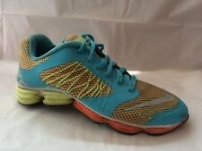 70f798f8ae231 Nike 631537-400 Lunar Sprint Girl 6 Youth Blue Orange Green Sneaker Shoe  Running