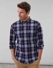 Joules Men Lyndhurst   Long Sleeve Classic Fit Poplin Shirt -  Size XXL