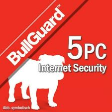Bullguard Internet Security 2018 5 Appareils 5 Pc | 1 an Antivirus