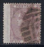 Großbritannien 1856 Mi. 14 Gestempelt 60% 6 P, Victoria, Königin