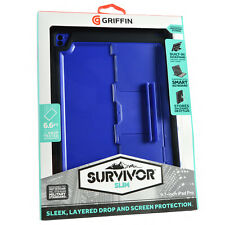 "Genuine Griffin Survivor Rugged Slim iPad Pro 9.7"" & iPad Air 2 Case Cover Stand"
