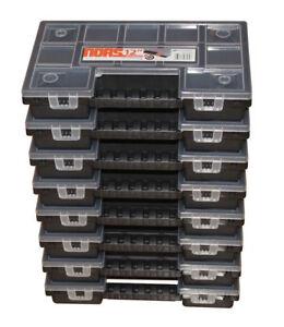 8 x NORS12 Prosperplast Sortiments-Kasten,Sortierbox Deckel, kostenloser Versand