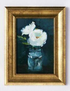 ❤️  NEW Studio McGee Threshold Target  11x14 Floral Art Framed Wall Canvas NIB