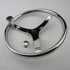 """Boat Steering Wheel 3 spoke 13-1/2"""" dia SeaStar and Verado Extraordinary"""