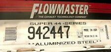 """Flowmaster 942447 Super 44 Series Muffler, 2.25"""" Center Inlet / 2.25"""" Offset Out"""