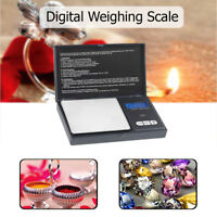 Small Mini Digital Pocket Scale with Calibration Weight & 0.01g - 100g Accuracy