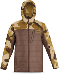 New Dakine Larrie Mid-Layer Snowboard Jacket Men's Large Carafe / Brown Camo