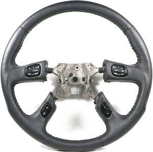 Grant 61037 Racing Leather Steering Wheel w/ Controls Fits 2003-2007 Silverado
