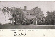 Postcard Roosevelt's Home Oyster Long Island Ny 1906