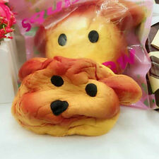 Creative PU Jumbo Squishy Squeeze Dog Bread Scented Slow Rising Toys Hot