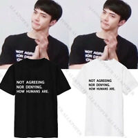 KPOP EXO Sehun Tshirt Merchandise T-shirt Unisex Short Sleeve Cotton Tee