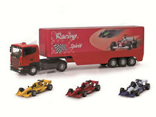 JOY CITY AUTOMAXX 1:43 PLAY SET SCANIA RACE TEAM CAMION CAMION+3 AUTO ART. 2202