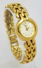 Seiko Ladies Quartz Gold Tone Bracelet Watch 1NO1-OH29 *New  Battery* A4