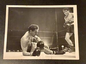 Stunningly Clean Original 1954 Joey Giardello Type 1 Boxing Photo PSA Ready Rare