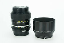 Nikon Nikkor K 105mm 1:2.5 obiettivo portrait lens Nikon AI fit mount modified