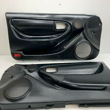 1994-1999 OEM Toyota Celica Black Leather Door Panels LH RH Convertible |S4263