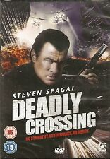 TRUE JUSTICE: DEADLY CROSSING - Steven Seagal, Meghan Ory (NEW/SEALED DVD 2010)