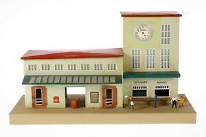 AC1924:Vintage Kibri 0/1 Gauge Station on Platform 52/13