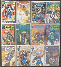 28 Captain America 1-13,17,19,20,22-24,26,29,44,46,50 Annuals 1998 1999 Series 3