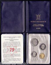 B-D-M Lote 5 carteras pruebas numismáticas oficial 1975*79 PROOF