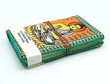 papier recyclé fait main poche mini notebook Seigneur Bouddha bloc-notes vide