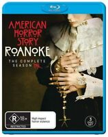 American Horror Story - Roanoke (Blu-ray, 3-Disc Set) NEW