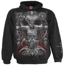 SPIRAL DIRECT SANDS OF DEATH Hoody/Biker/Skull/Metal/Goth/Cross/Pullover/Hood