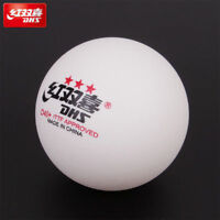 50 pcs DHS D40+ 3Star Table Tennis Plastic Ping Pong Balls Color White