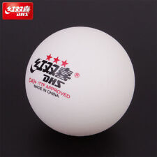 100 pcs DHS D40+ 3Star Table Tennis Plastic Ping Pong Balls Color White