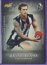 Dayne Beams 2013 Select Champions Collingwood Best and Fairest BF4