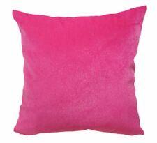 Fh211a Plain Hot Pink Soft Faux Mink Fur Cushion Cover/Pillow Case*Custom Size