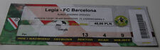 Ticket for collectors CL Legia Warszawa - FC Barcelona 2002 Poland Spain