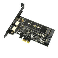 3.0 & Type-c M.2 PCIe Adapter M2 SSD SATA B Key to PCI-e 3.0 NEW Controller