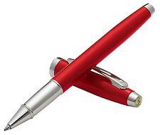 Sheaffer Ferrari 100 Red Rosso Corsa Rollerball Pen Nickel Plate Trim  NEW