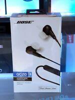 BOSE Quiet Comfort 20, Acoustic Noise-Cancelling Headphones, Black