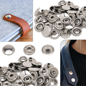 15mm PRYM Press Studs Ring Spring with 24''' Cap Stainless Steel 10pcs-2000pcs