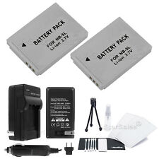 2x NB-5L Battery and Charger for Canon Powershot S110 S100