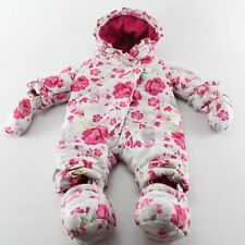 IL BAMBINO PICCALO Baby Mädchen Schneeanzug Mantel 56/62 0-3 England
