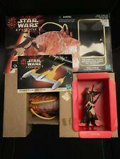 Hasbro Star Wars Episode I Opee and Qui-Gon Jinn Figure Set 1998 New Open Box