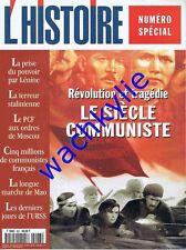 L'histoire n°223 - 07/1998 Le siècle communiste Staline Lénine Mao