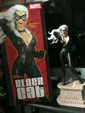 """MARVEL PREMIER COLLECTION BLACK CAT  STATUE 13"""" BY CLAYBURN  MOORE 2003"""