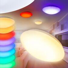 Lampada LED Plafoniera Salone Salotto RGB Telecomando Colore Variabile Moderna