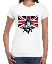 Union Jack Scooter Mod Women's T-Shirt - Jam Fashion The Who Quadrophenia