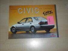 60674) Honda Civic - City Edition - Prospekt 02/1996
