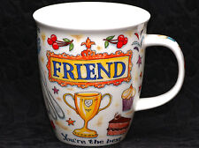 DUNOON FRIEND Fine Bone China NEVIS Mug