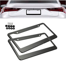 """12*6"""" Stainless steel Car Vehicles License Plate Frame Tag Cover Holder W/ Screw"""
