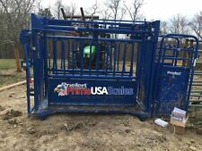"""Livestock Scale Weigh Bars Chute 6,800 lb Cattle Scale Portable Scale 40"""" x 4"""""""