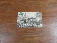CPA CARTE POSTALE 1908 17 ILE DE RE ST MARTIN DEPARTS DE FORCATS Bagnards bagne